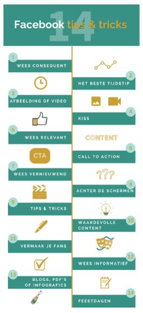 Content Ideeën om nooit meer inspiratieloos te zijn - Infographic post voorbeeld 2- TopGemerkt