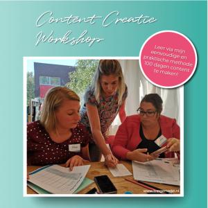 Instagram Training - Business Proof - Content Creatie Workshop - TopGemerkt1