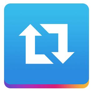 Hoe reposten op Instagram - Logo Repost for Instagram app - TopGemerkt