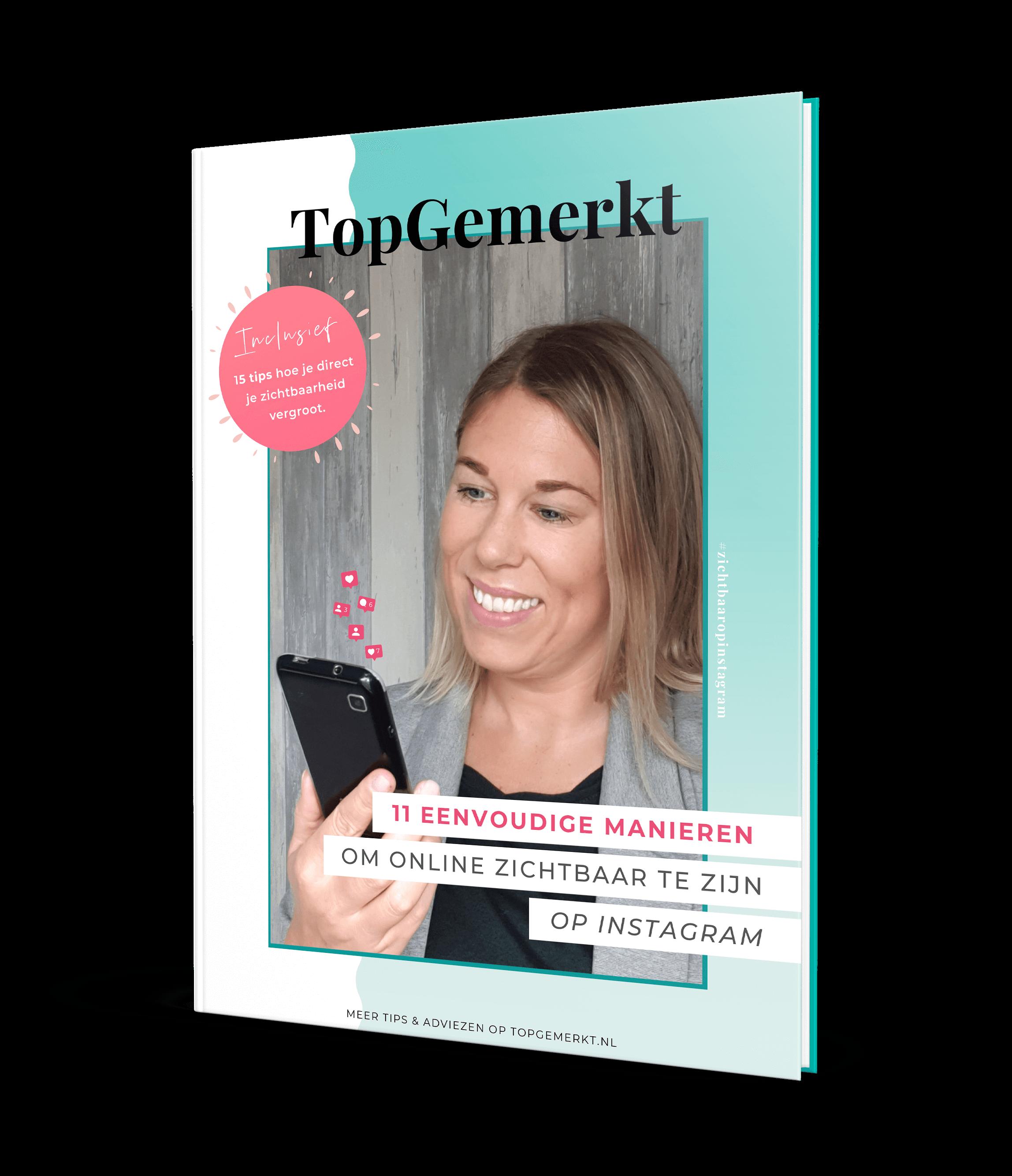 E-book - 11 eenvoudige manieren om online zichtbaar te zijn - TopGemerkt