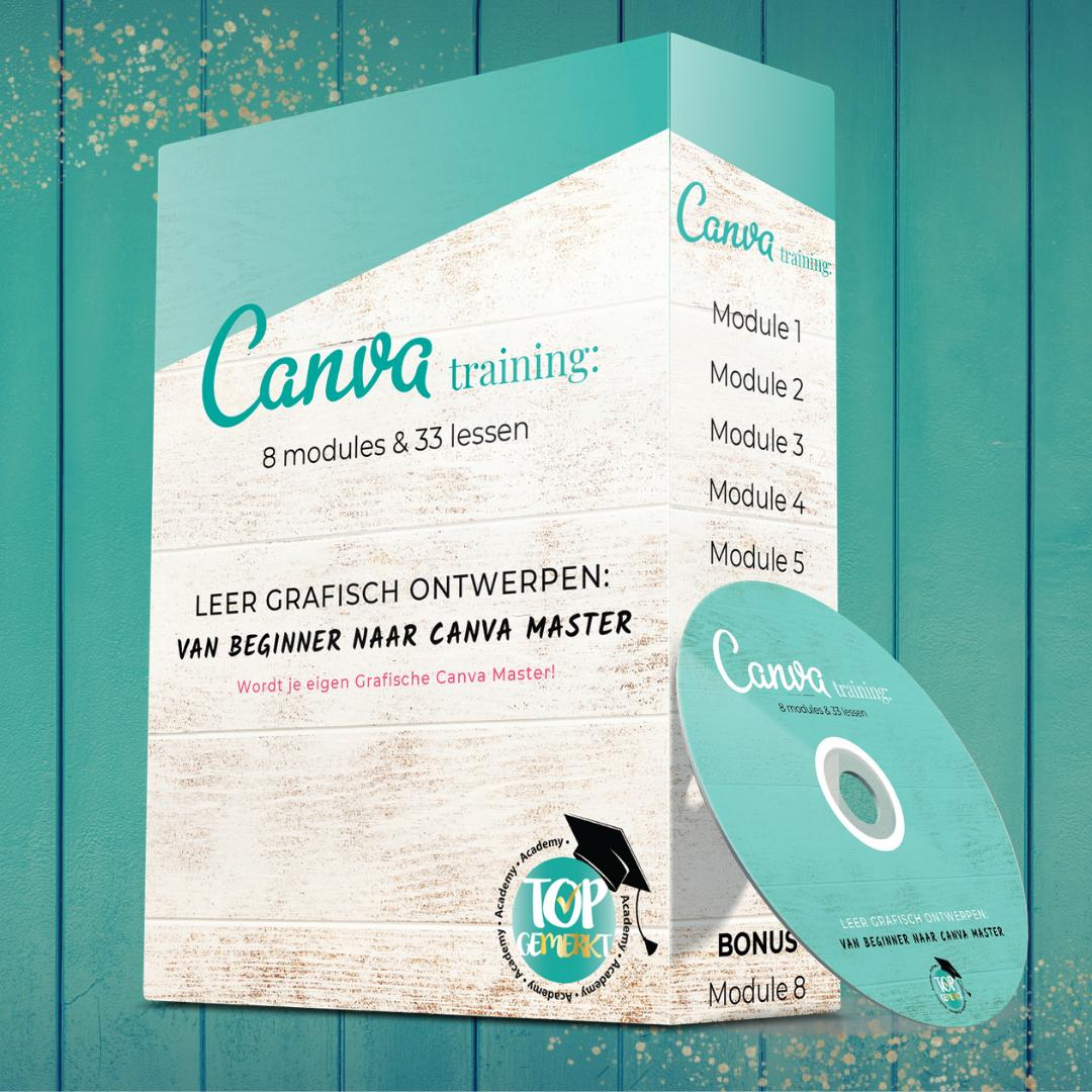 Canva Cursus - Van beginner naar Canva master - TopGemerkt Academy
