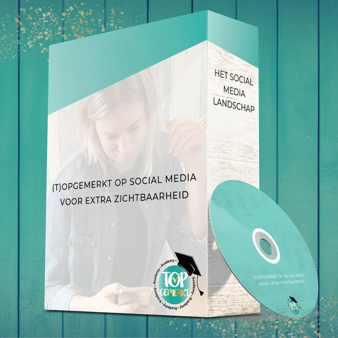 TopGemerkt op Social Media voor extra zichtbaarheid - videocursus - TopGemerkt Academy